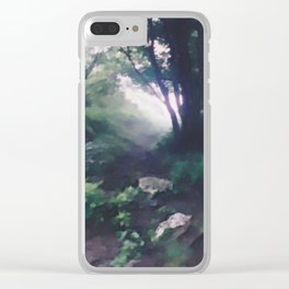 """"""" Forest Beckoning """" Clear iPhone Case"""