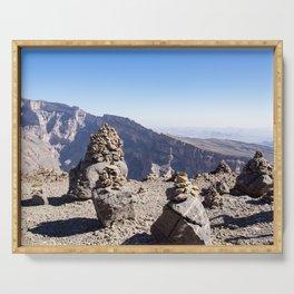 Jebel Shams - Oman Serving Tray