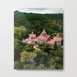 Monserrate Castle Sintra Metal Print