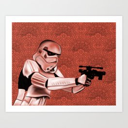 Star War Art Print