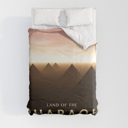 Land of The Pharaoh Comforters