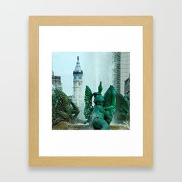 Penn On Top Framed Art Print