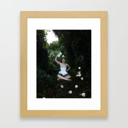 Waiting for Wonderland Framed Art Print