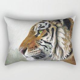 Tiger profile AQ1 Rectangular Pillow