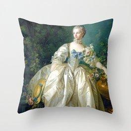 Madame Bergeret Throw Pillow