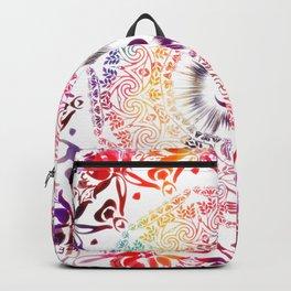 Radiant Om Mandala Backpack