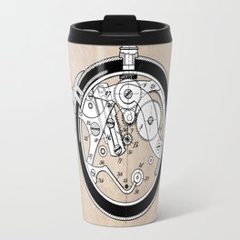patent Coullery Metronome 1908 Travel Mug