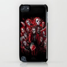 Jason Voorhees Friday the 13th Many faces of Slim Case iPod touch