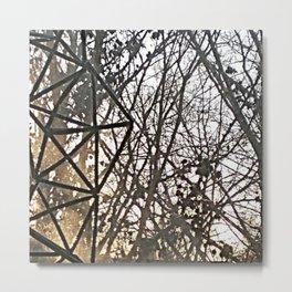 Branches etc. Metal Print