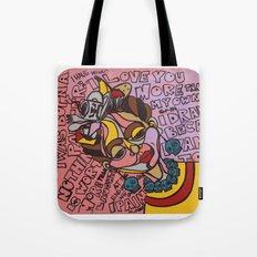 Frida Speaks Her Mind Tote Bag