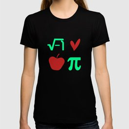 Funny Thanksgiving Math I Love Apple Pi or Pie Day Equation T-shirt