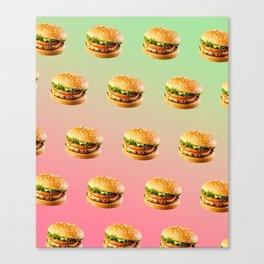 Burgers Canvas Print