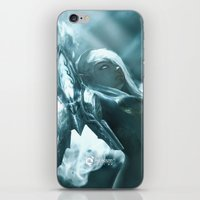 soul eater iPhone & iPod Skins featuring Aoelia the Soul Eater by Jiyu-Kaze™