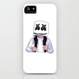 Marshmello fan art iPhone Case