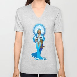 The Virgin Mary Unisex V-Neck
