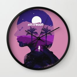 The Many Faces of Cinema: Mulholland Drive Wall Clock