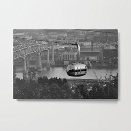 Above the city Metal Print
