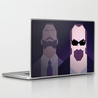 lynch Laptop & iPad Skins featuring Kane & Lynch by Maxim Nikitin