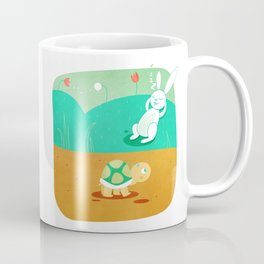 The Hare and the Tortoise Coffee Mug