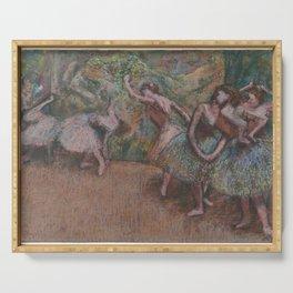 Edgar Degas - Ballet Scene Serving Tray
