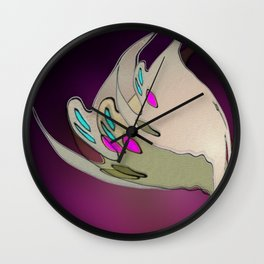 Witching hour 5 Wall Clock