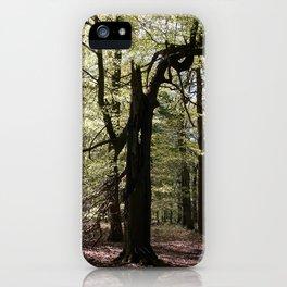 Screaming Tree iPhone Case