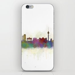 Berlin City Skyline HQ5 iPhone Skin