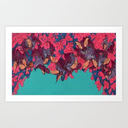 Out of Sight, Out of Mind Art Print
