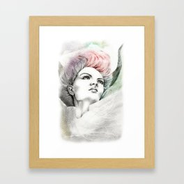 Fallen Faery Framed Art Print