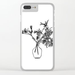 Vase Clear iPhone Case