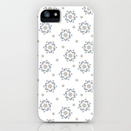 hexa leaf lilac iPhone Case