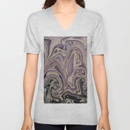Fluid Kiss #1 #abstract #decor #art #society6 Unisex V-Neck