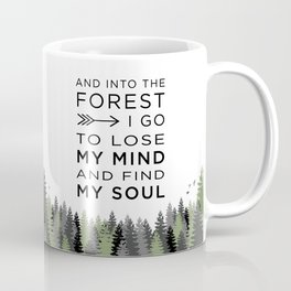 Into the Forest I Coffee Mug