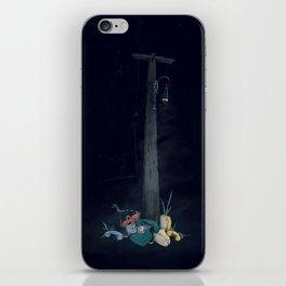 Landline Graveyard iPhone Skin