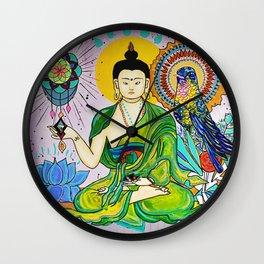 Buddha Freedom Nirvana Wall Clock