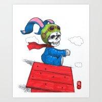 ace Art Prints featuring ace by Norio Fujikawa
