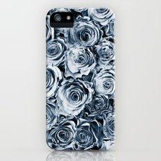 Blue Roses Slim Case iPhone (5, 5s)