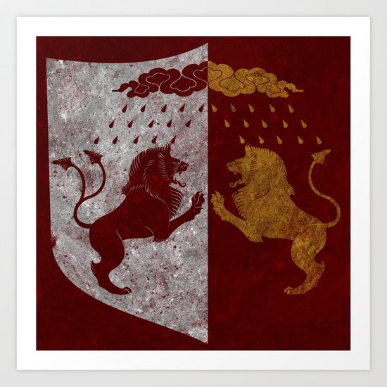 The Rains of Castamere Art Print