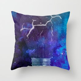 Broken Light Throw Pillow