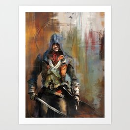 Portrait of Arno Dorian Art Print