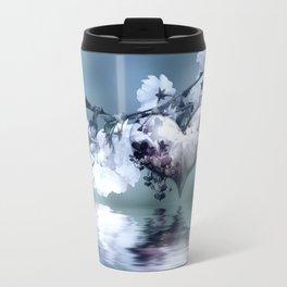 Frühlingsherz blue Travel Mug