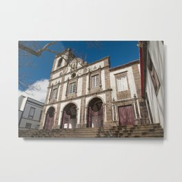 Portuguese church Metal Print