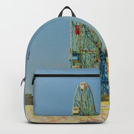 Colorful Coney Island Backpack