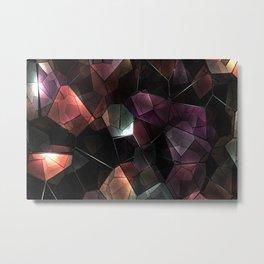 crystals background design luxury Metal Print