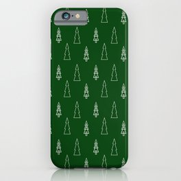 Evergreen Christmas iPhone Case