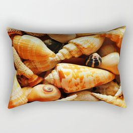 She Sells Sea Shells on the Sea Shore Rectangular Pillow
