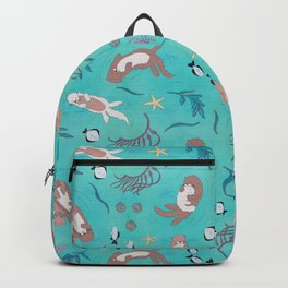 Sea Otters Backpack