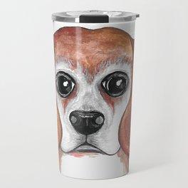 Brandy the Beagle Version 2 Travel Mug
