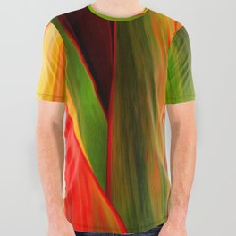 Ti Leaf Series #1 All Over Graphic Tee