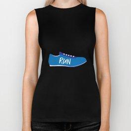 Running Shoes Biker Tank